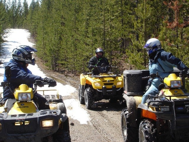 ATVing with the Vermilion Trails Society