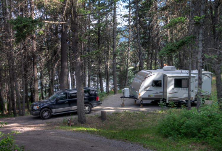 Camping Out at Allison Lake Provincial Campground